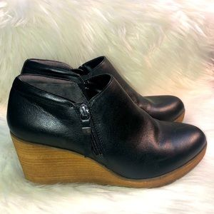 Dr. Scholls be energized Black Zipper Ankle Boots